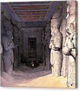 Abu Simbel Temple, 1838 Canvas Print