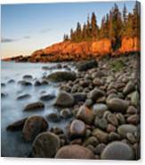 Acadia National Park Morning Light Canvas Print