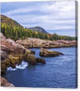 Acadia's Coast Canvas Print