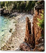 Acadia's Monument Cove Canvas Print