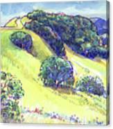 Acalanes Ridge, Lafayette, Ca Canvas Print