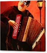 Accordeon Canvas Print