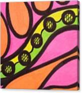 Aceo Abstract Design Canvas Print