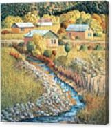 Acequia Del Llano Canvas Print