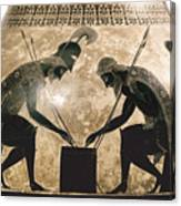 Achilles & Ajax, C540 B.c Canvas Print