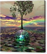 Acid Tree Canvas Print