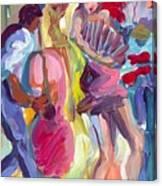 Acordian Collo Canvas Print
