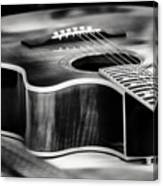 Acoustic Noir Canvas Print