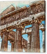 Acropolis I Canvas Print