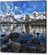 Across Jenny Lake Canvas Print
