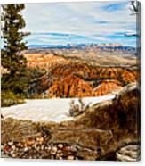 Across The Canyon Canvas Print