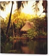 Across The Lagoon Canvas Print