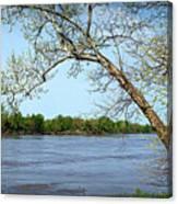 Across The Wide Missouri Canvas Print