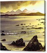 Across To Gigha And Jura Canvas Print