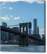 Across To Manhattan New York New York Canvas Print