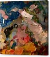 Acryl Color Abstract Canvas Print