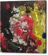 Acrylic Abstract 15-v.vvv Canvas Print
