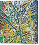 Acrylic Fire 2005 Canvas Print