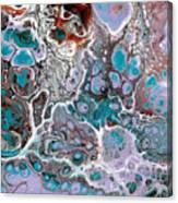 Acrylic Pour #10 Canvas Print