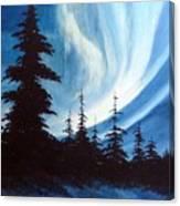 Actic Aurora Canvas Print