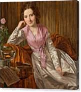 Actress Therese Krones Canvas Print