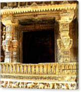Adalaj Stepwell 3 Canvas Print