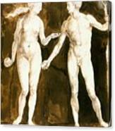 Adam And Eve 1504 Canvas Print