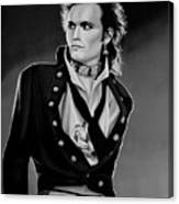 Adam Ant Painting Canvas Print