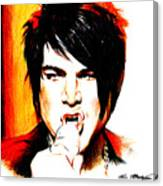 Adam Lambert Canvas Print