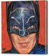 Adam West Is Batman Canvas Print