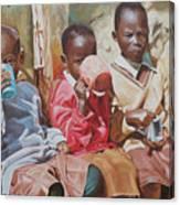 Adamfo Pa, Best Of Friends Canvas Print