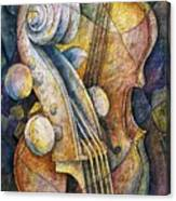 Adam's Cello Canvas Print