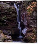 Adams Falls Pa Autumn Canvas Print