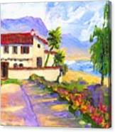 Adamson Home Malibu Canvas Print