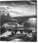 Adda Dam Canvas Print