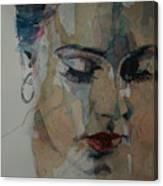 Adele - Make You Feel My Love  Canvas Print