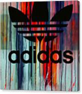 Adidas Plakative - Typografie Canvas Print