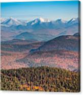 Adirondack High Peaks Canvas Print