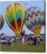 Adirondack Hot Air Balloons Canvas Print