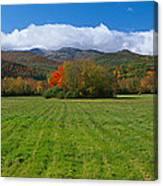 Adirondack Mountains, Upper State New Canvas Print