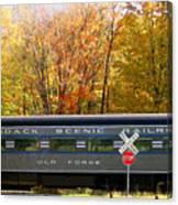 Adirondack Scenic Railroad Canvas Print
