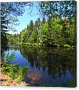 Adirondack Waters Canvas Print