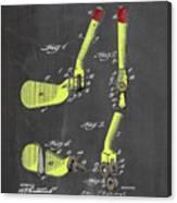 Adjustable Golf Club Canvas Print