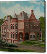 Administration Building Canvas Print