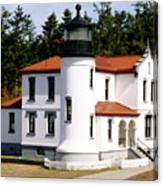 Admirality Head Lighthouse Canvas Print