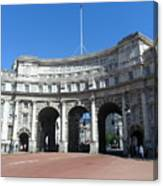 Admiralty Arch Canvas Print