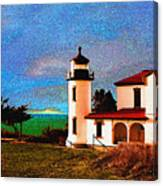 Admiralty Head Lighthouse Dp15 Canvas Print