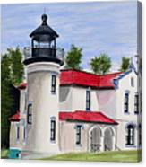 Admiralty Head Lighthouse Canvas Print