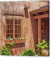 Adobe Gallery, Santa Fe Canvas Print