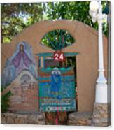 Adobe Wall Chimayo  Canvas Print